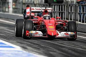 Ferrari: The second day of testing at the Catalan circuit
