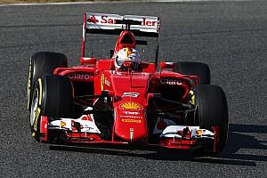 Ferrari in the fight behind Mercedes, says Vettel