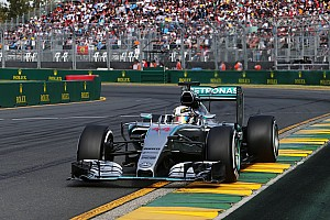 Mercedes kicks off the 2015 season in style with a 1-2 finish at the Australian GP