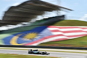 Mixed bag for Mercedes on a hot and humid opening day at the Sepang