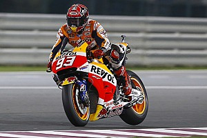 Marquez continues to lead MotoGP field in Qatar