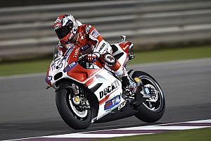 Dovizioso leads the way in wet practice at Austin