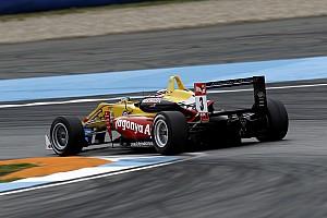Giovinazzi beats Rosenqvist to win wet Hockenheim opener
