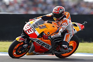 Positive day for injured Marquez in Spanish sunshine