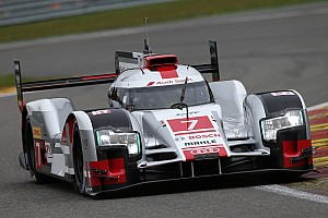 Audi on second row in qualifying at Spa