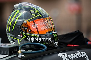 Kyle Busch returns to the cockpit of a race car