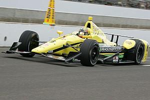 Sage Karam leads rain-marred Indy 500 practice at 225.802mph