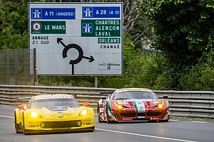 Corvette Racing at Le Mans: Plenty of work – and rain – on Test Day