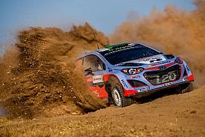 Hyundai Motorsport celebrates double podium finish in Rally Italia Sardegna