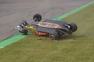 Huge aerial crash for Menezes mars second Spa race – video