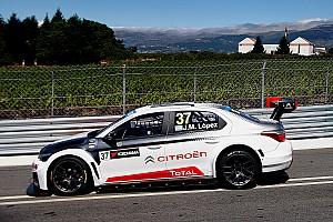 Lopez leads Loeb in a Citroen 1-2 in the first Vila Real race