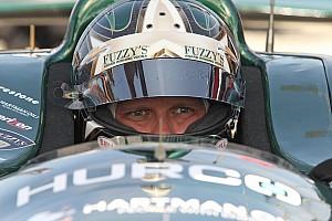 Infuriated Carpenter confronts Karam after close racing