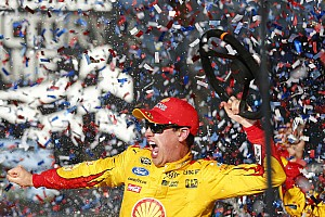 Logano hoping to give Penske the Daytona/Indy sweep