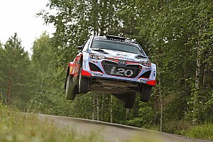 Improvement and frustration for Hyundai Motorsport on penultimate day of Rally Finland