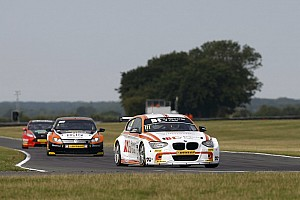 Priaulx and Jordan lead the way in Snetterton practice