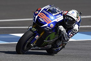 Lorenzo lands front row Start for Indianapolis GP