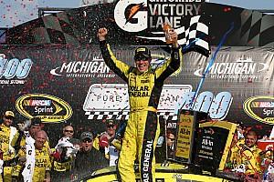Matt Kenseth conquers Michigan