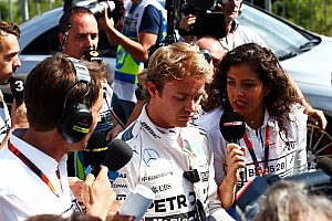 Belgian GP: Rosberg fastest but suffers frightening tyre failure