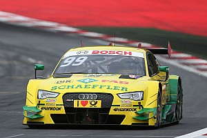 Audi wins and takes DTM lead again