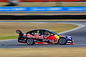 V8 testing continues at Queensland Raceway