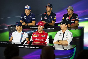 Italian GP: Thursday's press conference