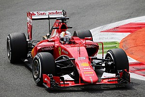 Ferrari: Looking for the best set-up on the SF15-T in Monza