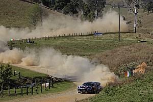 Latvala leads the way at Rally Australia