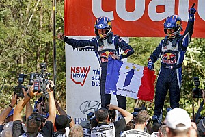 Ogier wins third World Championship