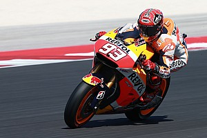 Marquez wins chaotic Misano GP in mixes conditions with Pedrosa 9th