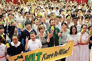 Craft-Bamboo Racing driver aims to inspire Hong Kong students