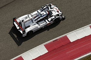 Porsche sets fearsome pace in first practice at COTA
