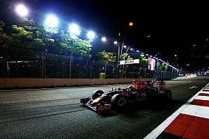 Ricciardo bullish of Red Bull's victory chances in Singapore