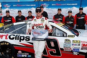 Edwards pulls off the qualifying sweep at New Hampshire