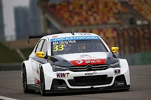 Shanghai WTCC: Ma Qing Hua stays on top in second practice