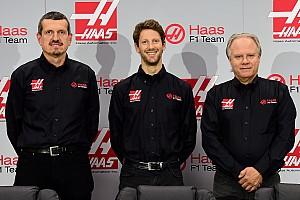 Grosjean becomes first Haas F1 driver