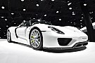 UK millionaire's Porsche 918 motorshow crash injures 26