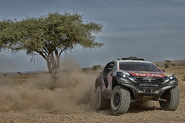 Loeb's Dakar preparation hindered by mechanical failure