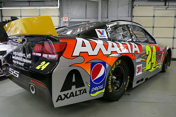 Gordon's sponsor Axalta moves to Dale Jr for 2016