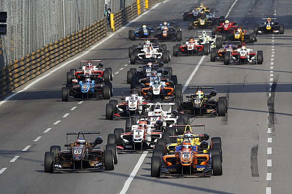 Euro F3 champion Rosenqvist heads Macau entry list