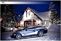 Porsche in the Snow