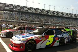 Starting grid for the Daytona summer race