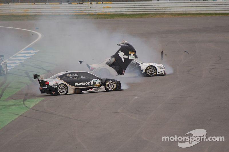 Markus Winkelhock and Susie Stoddart get together, DTM Hockenheimring II 2008