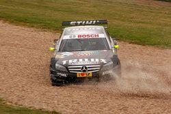 Ralf Schumacher goes for a spin, DTM Oschersleben 2009