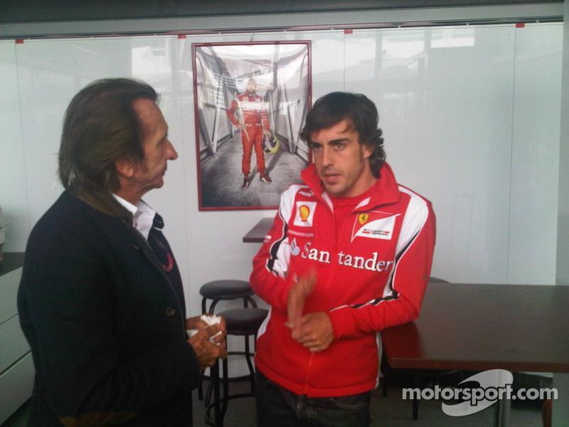 Fittipaldi and Alonso