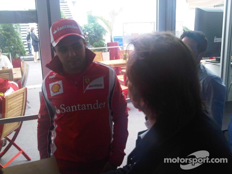 Fittipaldi and Massa