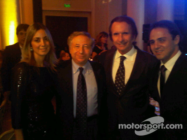 Jean Todt and Emerson Fittipaldi