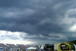 Rain is closing in
