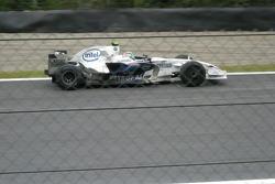 Robert Kubica with BMW-Sauber
