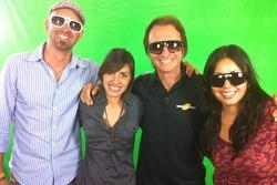 Evoke Sunglasses Green Screen Shoot with NOBOX marketing team