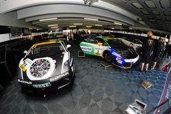 The three Lamborghini Gallardo's of Reiter Engineering
